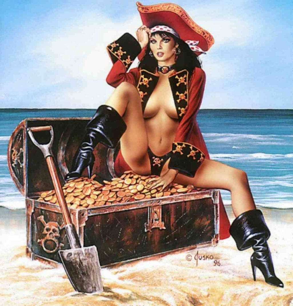 Hot sexy pirate girls xxx toons
